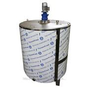 Термос ОМВ-2 промышленный для хранения охлажденного молока фото
