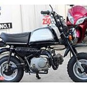 Мопед мокик Honda Monkey Gorilla рама Z50J гв 1994 Minibike пробег 8 т.км черный серебристый фото