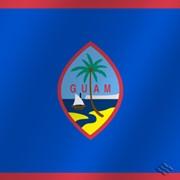 Флаг национальный Гуам фото