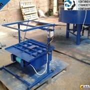 Станок для производства шлакоблоков и керамзитовых блоков РМУ фото