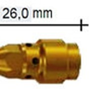 142.0242.5 Вставка для наконечника M10 х1/M6 26,0 мм для WT340 MS, Abicor Binzel фото