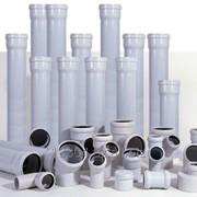 Канализационные трубы ПВХ от 50х200 фото