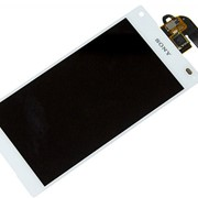 Дисплей для Sony E5823 (Z5 Compact) в сборе с тачскрином (белый) Оригинал фото