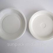 Тарелки d-170 мм, белые фото
