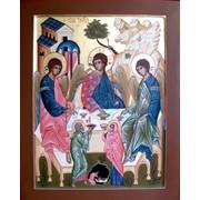 Икона Св. Троица фото