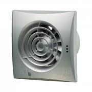 Бытовой вентилятор d100 Вентс 100 Квайт Т алюм. мат. фото
