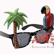 "Очки ""Гаваи с попугаем"" фото"