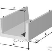 Лоток теплотрасс, железобетонный Серия 3.006.1-2.87, Л-4-8