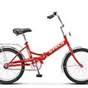 Велосипед STELS Pilot-410 малиновый фото