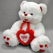 Детская мягкая игрушка медведь Лав фото