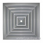 Потолочная вентиляционная решетка, разм.450х450мм фото