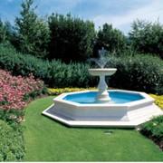 Благоустройство парков и садов. Установка фонтанов. фото