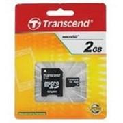 Transend microSD 2Gb фото