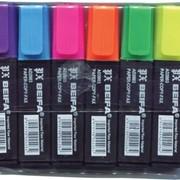 Маркер, набор текстовых маркеров Beifa 2003-6 н-р, 6 шт. фото