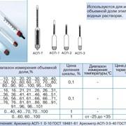 Ареометры для спирта АСП-1, АСП-2, АСП-3, АСП-Т фото
