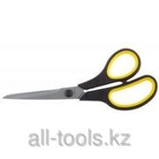 Ножницы Stayer Master хозяйственные, изогнутые, двухкомпонентные ручки, 215мм Код:40466-21 фото