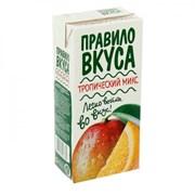 Напиток Правила Вкуса Тропический Микс 0,93л фото