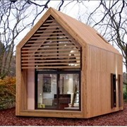 Проект дома из дерева Д0072 фото