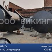 Резервуар стальной приема дизельного топлива фото