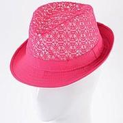 Шляпа Челентанка CHD17002 малиновый фото