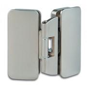 Шарнир для стеклянной витрины или накладной дверцы фото
