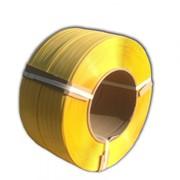 Лента полипропиленовая 16 х 0,8 х 1,3км( желтая ) фото