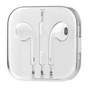Наушники комплектные для iPhone EarPods белые фото