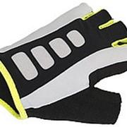 Перчатки 8-7130723 Men ARP 14A черно-бело-желтые р-р XL AUTHOR фото