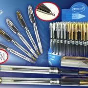 Ручка гелевая синяя стержень, tz 5238 фото