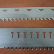 Пилы рамные для вертикальных пилорам. фото