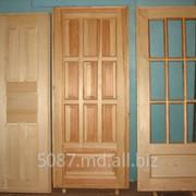 Двери деревянные фото
