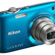 Цифровой фотоаппарат Nikon COOLPIX S31 Blue фото