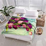 Плед флисовый ТамиТекс «Попурри» фото