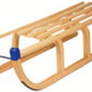 Сани Alpen Sport Rodel foldable, Санки детские деревянные фото