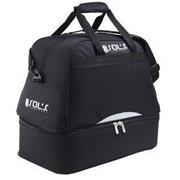 Спортивная сумка Calcio с отделением для обуви, черная фото