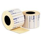 Этикетки самоклеящиеся желтые MEGA LABEL 70x16,9, 51шт на А4, 100л/уп фото