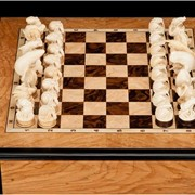 Шахматы ручной работы. фото