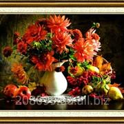 """Набор для рисования стразами """"Цветы и фрукты"""" Y6049 фото"""