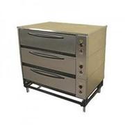Шкаф жарочно-пекарский Тулаторгтехника ЭШП-3с(у) оцинкованная сталь фото