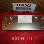 Теплообменник Baxi/Westen вторичный ГВС 12 пластин (5686670) BAXI ECO 3 COMPACT / WESTEN PULSAR, BAXI ECO фото
