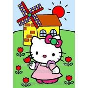 Картинки по номерам HELLO KITTY фото