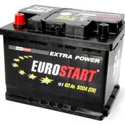 Аккумулятор автомобильный EUROSTART 60 (L +) фото