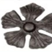 Элемент художественной ковки Цветок 24С\09 фото