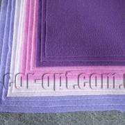 Фетр мягкий оттенки фиолетового 30х30см/1,5мм/12 шт 570266 фото