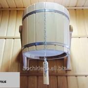 Ведро-водопад для бани, обливное устройство фото
