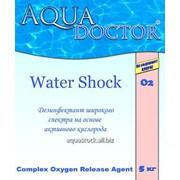 Aquadoctor. Активный кислород 5кг (дезинфектант). Упаковка 5кг (в гранулах) фото
