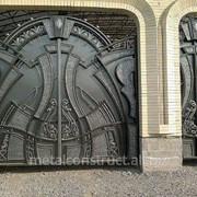 Ворота автоматические распашные №3 фото