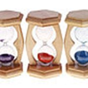 487772 Часы песочные 90 сек., синий песок фото