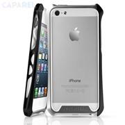 Бампер ItSkins Aluminium Bumper Toxik Silver & Black для iPhone 5 фото