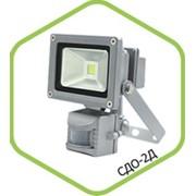 Прожектор светодиодный уличный СДО-2П-10. 10 Вт. фото